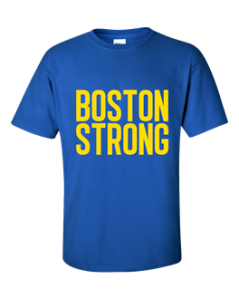 Boston Styrong t-shirt