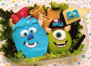 Monsters Inc lunch